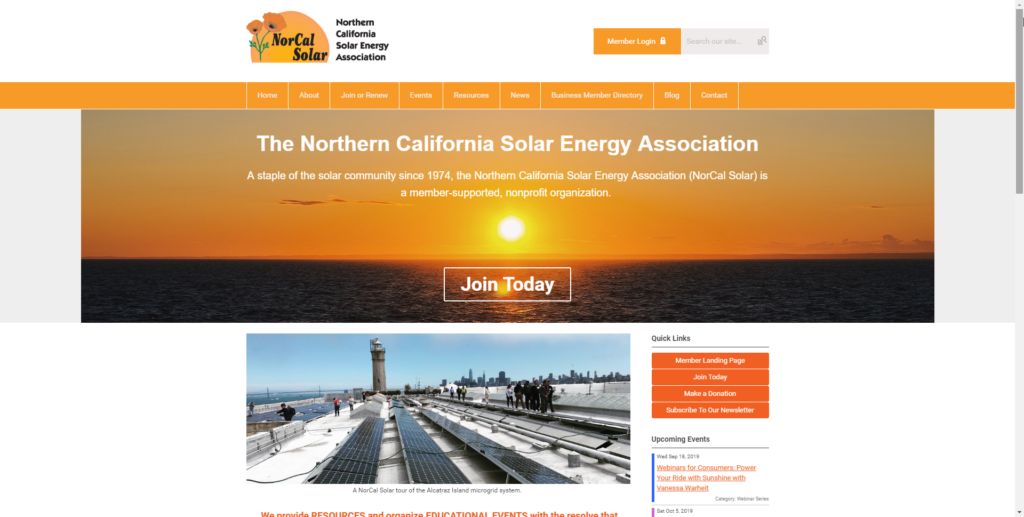 <strong>Northern California Solar Energy Association </strong>