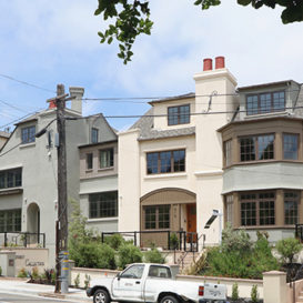 Jarvis Architects - Townhomes with a One-Bridge View - Residential